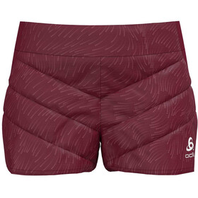 Odlo Irbis X-Warm Shorts Women rumba red
